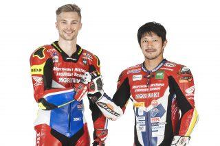 Leon Camier and Ryuichi Kiyonari