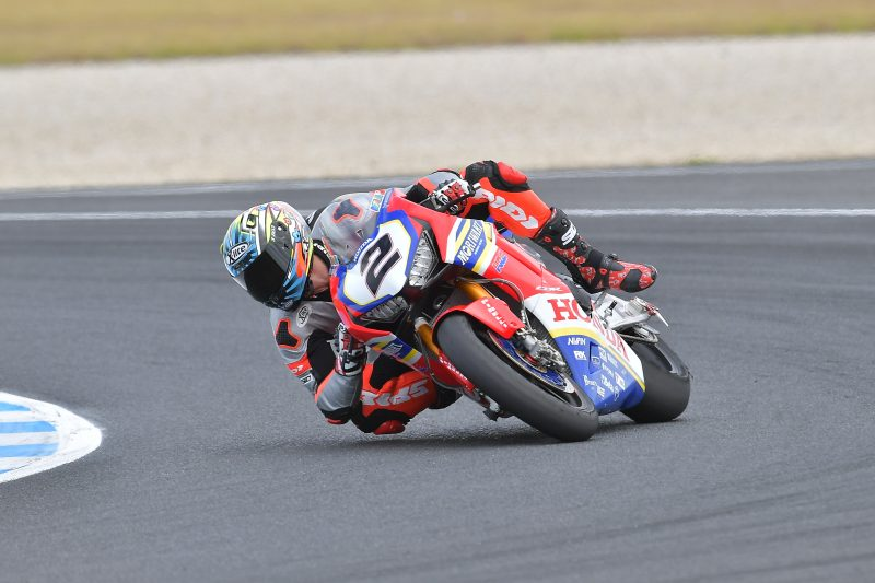 The Moriwaki Althea Honda Team commences final pre-season test at Phillip Island