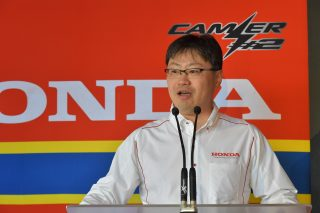 Department Manager, Motorcycle Department, Motor Sports Division, Honda Motor Co., Ltd. Soichi Yamana