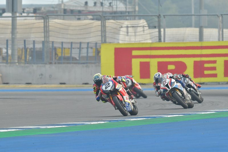 A challenging Saturday for the Moriwaki Althea Honda Team in Buriram