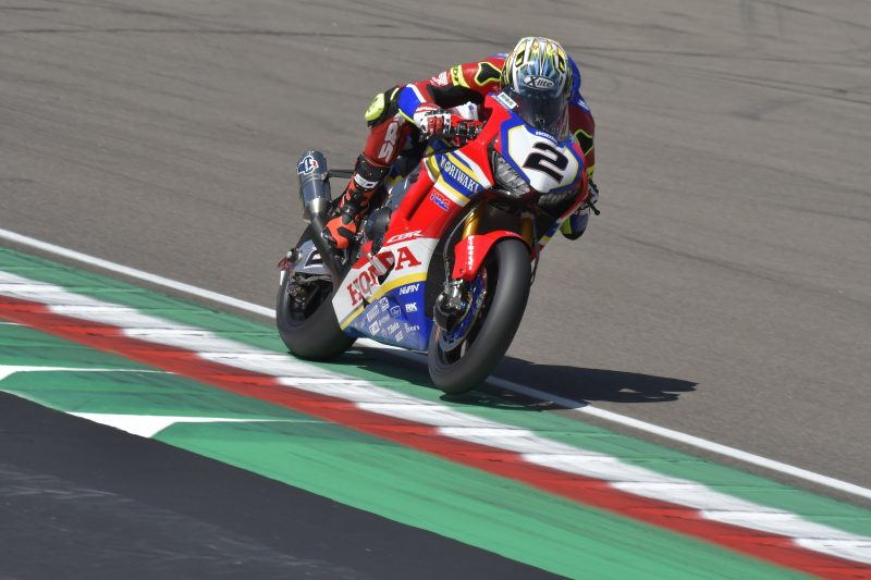 Leon Camier and Ryuichi Kiyonari begin their preparation for the Italian round at Imola