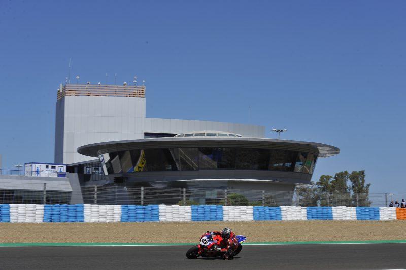 Tough race for Ryuichi Kiyonari and Yuki Takahashi on Saturday at Jerez