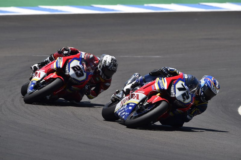 Yuki Takahashi builds on his race weekend to take his first Championship points, Kiyonari improves pace and speed before crashing out of the points zone in Race 2