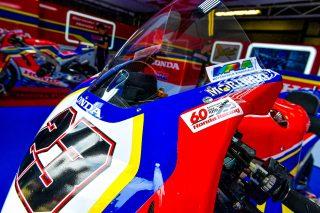 Honda 60th Anniversary of World Championship Racing Logo