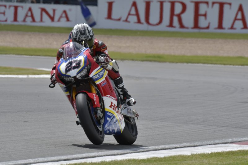 Sunday brings no luck for Ryuichi Kiyonari at Donington Park