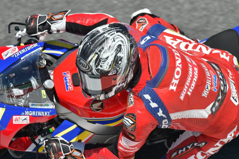 Sixteenth place for Ryuichi Kiyonari in Race 1 at Laguna Seca