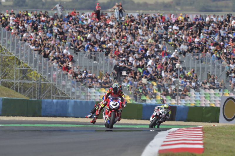 Another top ten for Leon Camier at Magny Cours; Ryuichi Kiyonari inside the points zone
