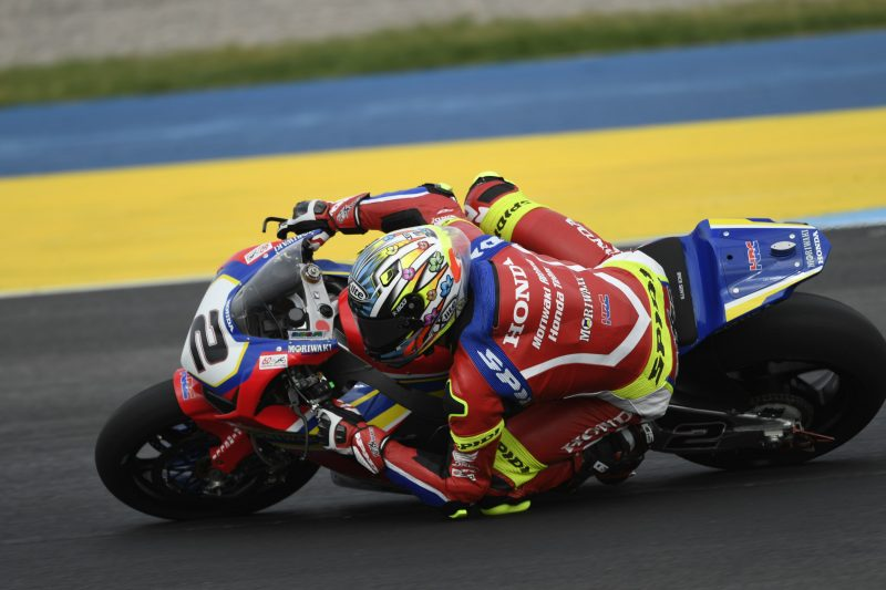 In Argentina Leon Camier finishes in the points in Race 2, Kiyonari struggles to find the pace