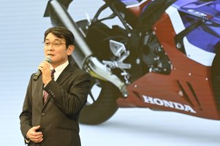 Noriaki Abe - Managing Officer, Chief Officer, Motorcycle Operations of Honda Motor Co.
