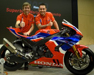 Alvaro Bautista and Leon Haslam