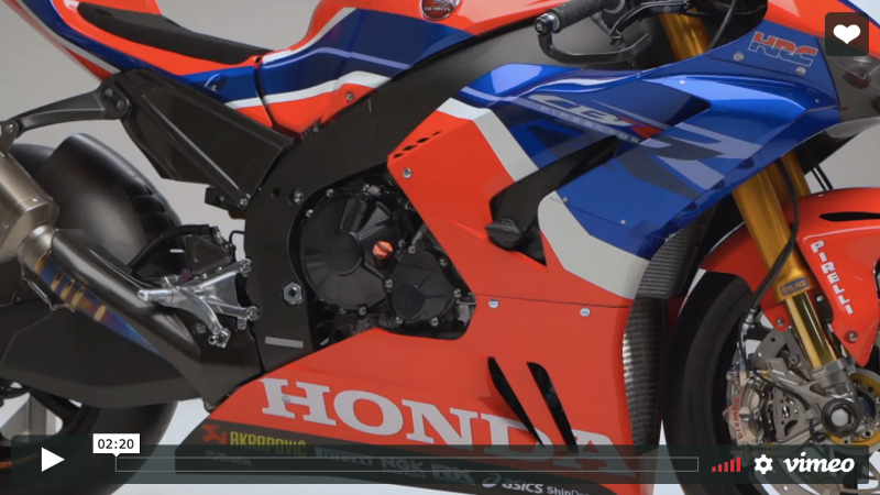 VIDEO: A lookbehind the scenes of the WorldSBK Team HRC Launch in Tokyo