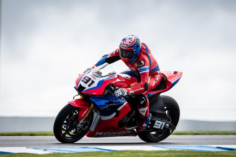 Team HRC rider Haslam fourth on day one at Phillip Island, Bautista improves pace and speed