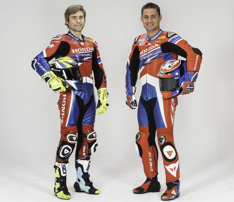 Face-to-face with Team HRC riders Alvaro Bautista and Leon Haslam