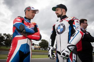 Leon Haslam and Eugene Laverty