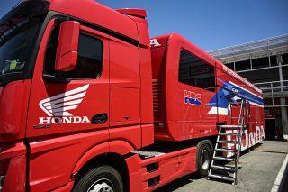 TeamHRC truck