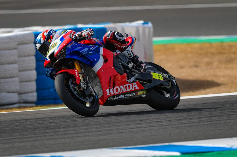 Team HRC back in action at Jerez for round 2 free practice