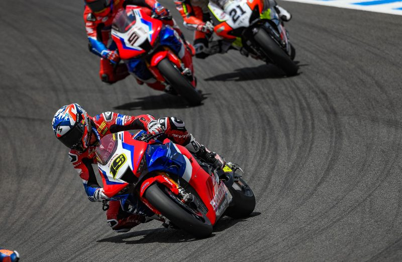 Bautista seventh in race 1 at Jerez with Haslam in tenth place