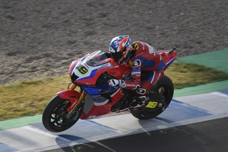 The Jerez WorldSBK round concludes with mixed results for Team HRC