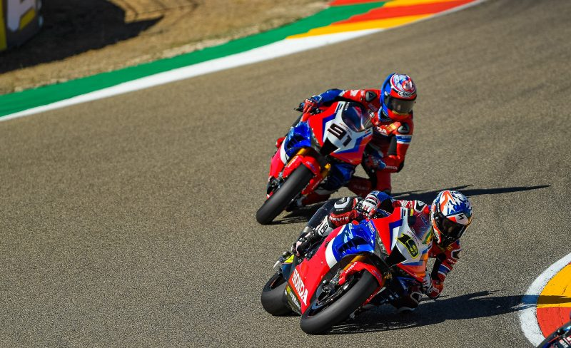 Team HRC remains at Motorland Aragón for Teruel Round