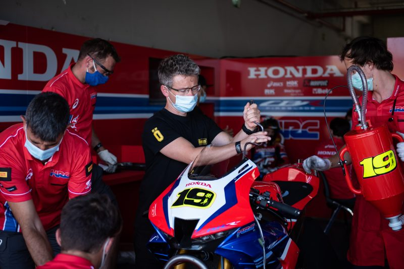 Team HRC travels to France for penultimate WorldSBK round