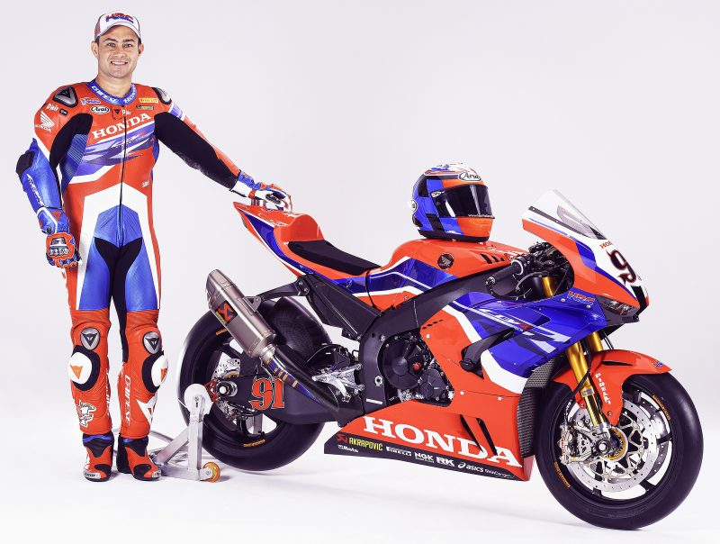 HRC Announces Leon Haslam Contract Extension with SBK Team HRC