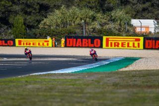 Alvaro Bautista and Leon Haslam - Team HRC