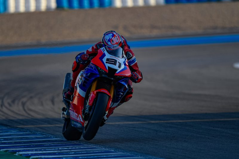 Two ideal days at Jerez make for a positive Team HRC test session