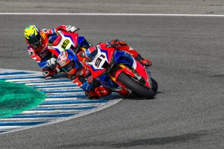 Leon Haslam, Alvaro Bautista - Test Jerez 01 2021