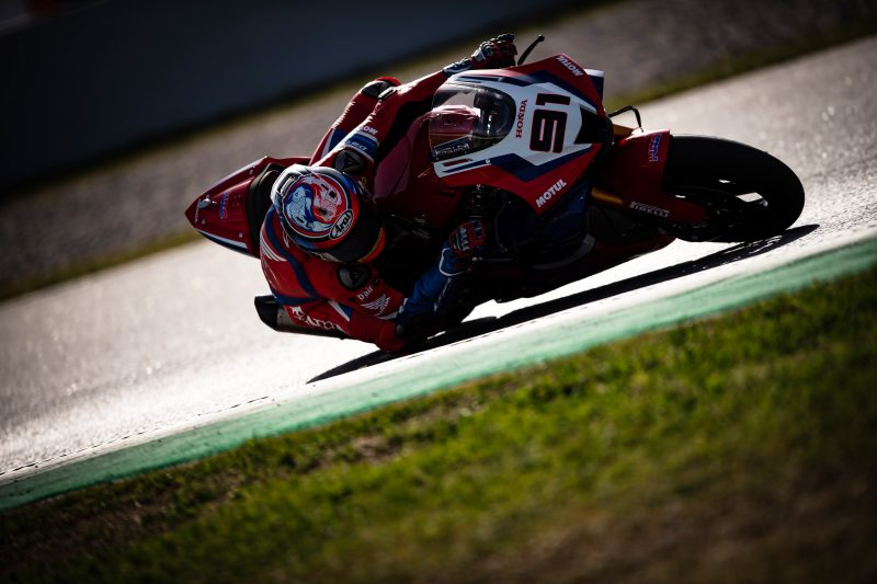 HRC Team concludes two positive days of testing at home track of Catalunya
