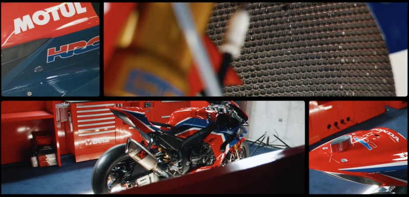 VIDEO: TeamHRC CBR1000RR-R FIREBLADE 2021
