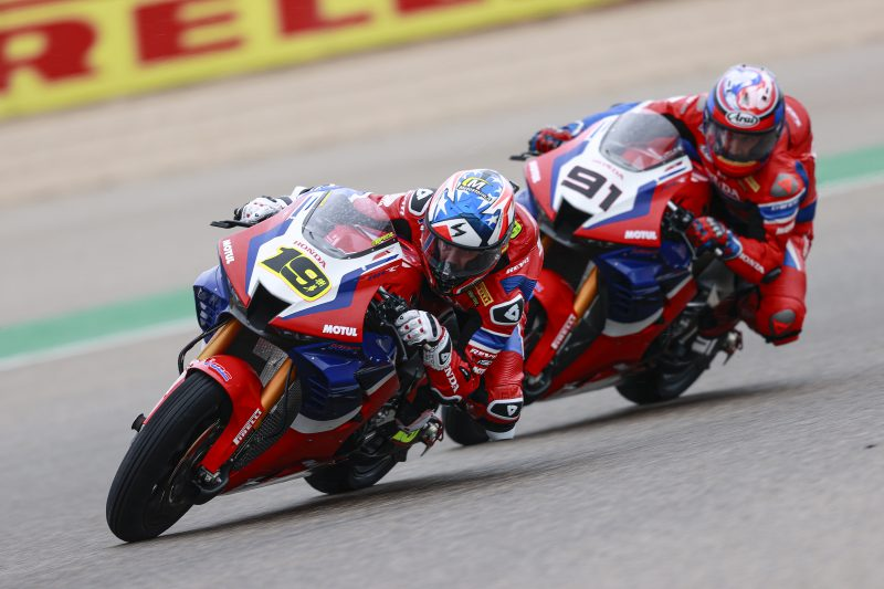 Team HRC unable to make the most of opportunities at Motorland Aragón
