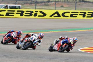 Race action - R1 Aragon - Race2