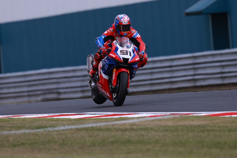 Team HRC rider Haslam takes on home track Donington, Bautista working hard to improve feeling