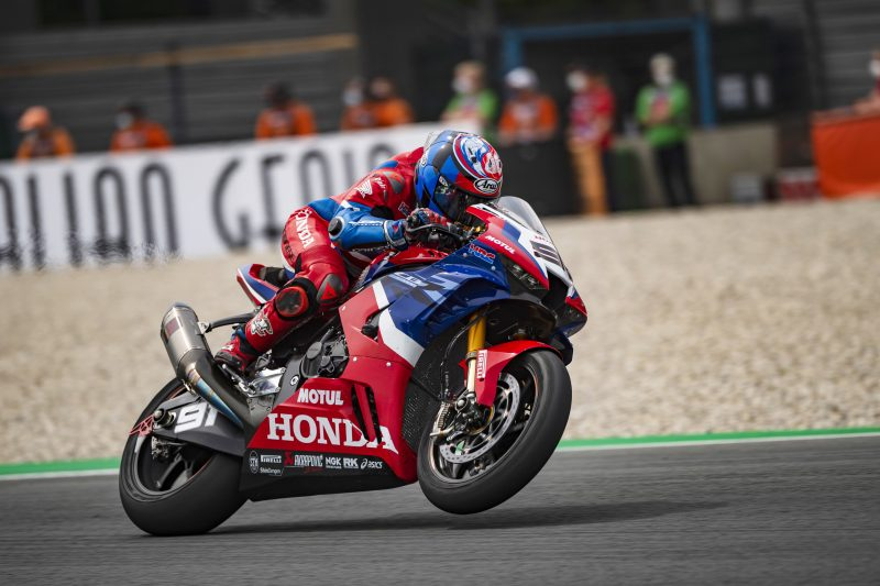 Haslam eighth at Assen; a fall stops Bautista early on in race 1