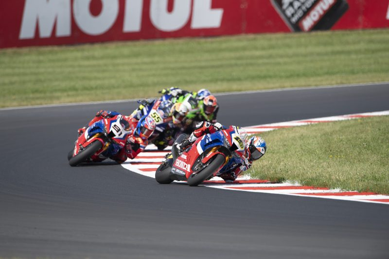 Team HRC explores the Most Circuit with promising sensations despite mixed conditions