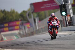Leon Haslam - Catalunya Test August