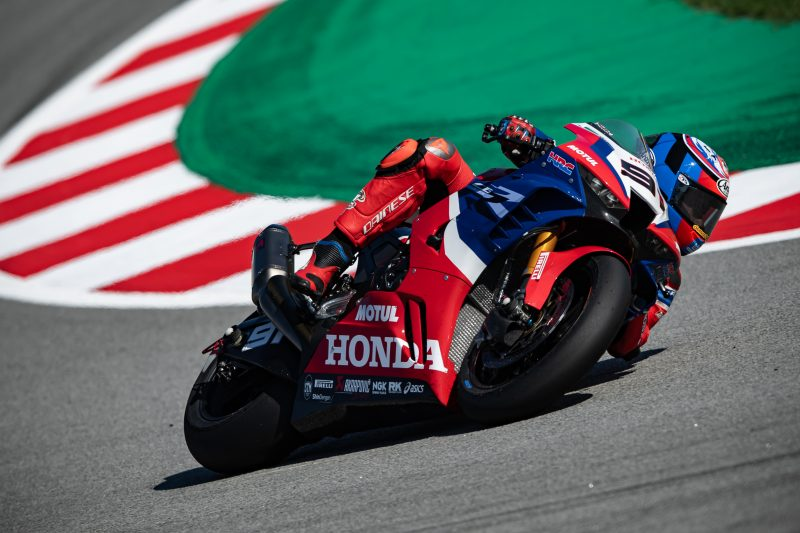 Haslam confident on day one at Catalunya, Bautista just a few tenths off