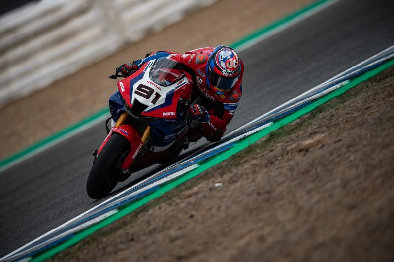 Team HRC fighting fit on day one at Jerez
