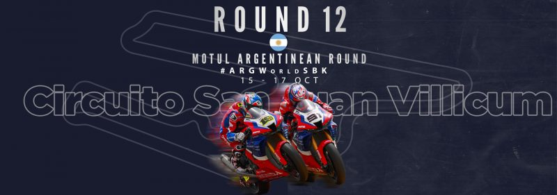 Team HRC lands in Argentina for the penultimate WorldSBK round